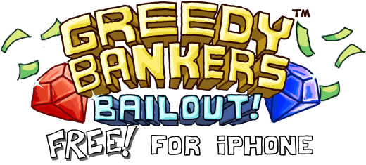 Banker clipart greed. Greedy bankers addictive puzzle
