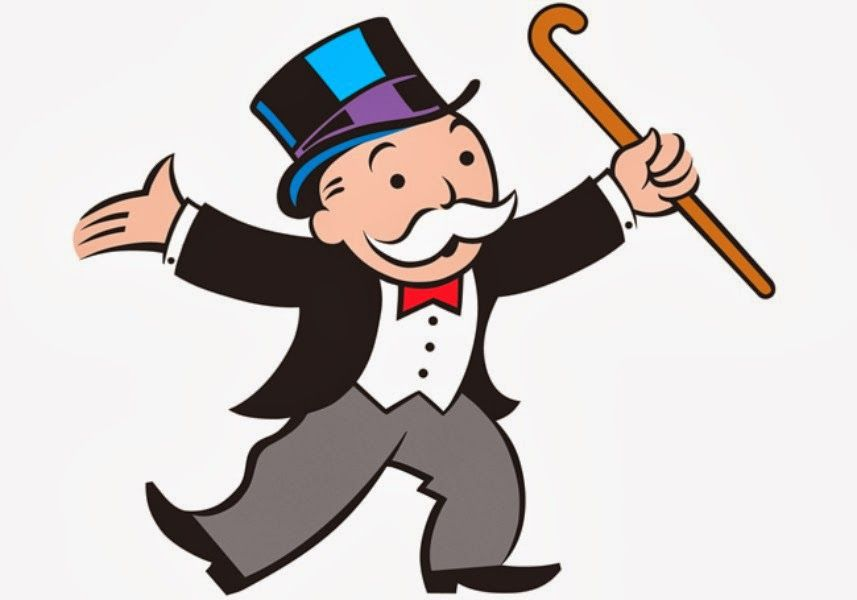 Banker clipart monopoly. Clip art pinterest and