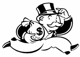 Banker clipart monopoly. Movieweb