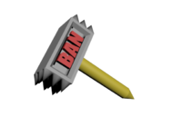 banned hammer png