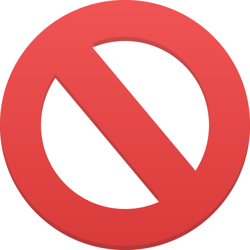 Cancel sign png. Banned logo image royalty