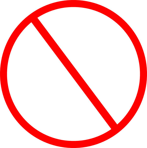 banned circle png