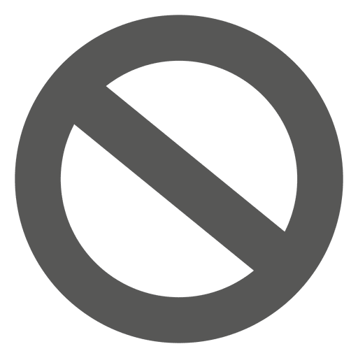 Banned png. Circle icon transparent svg