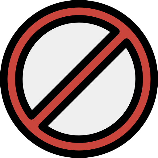 Banned sign png. Prohibition signaling no phone