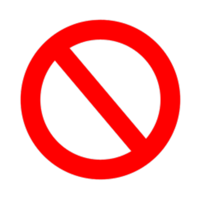 Banned sign png. Roblox