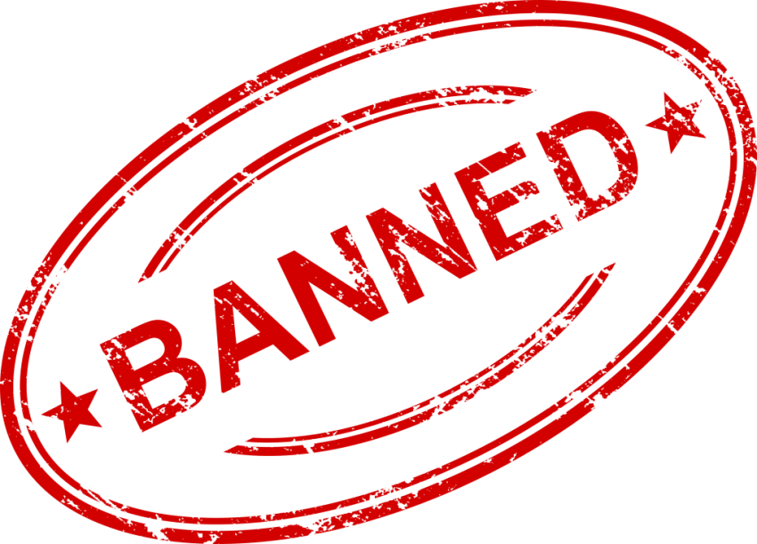 Banned stamp png. Free images toppng transparent