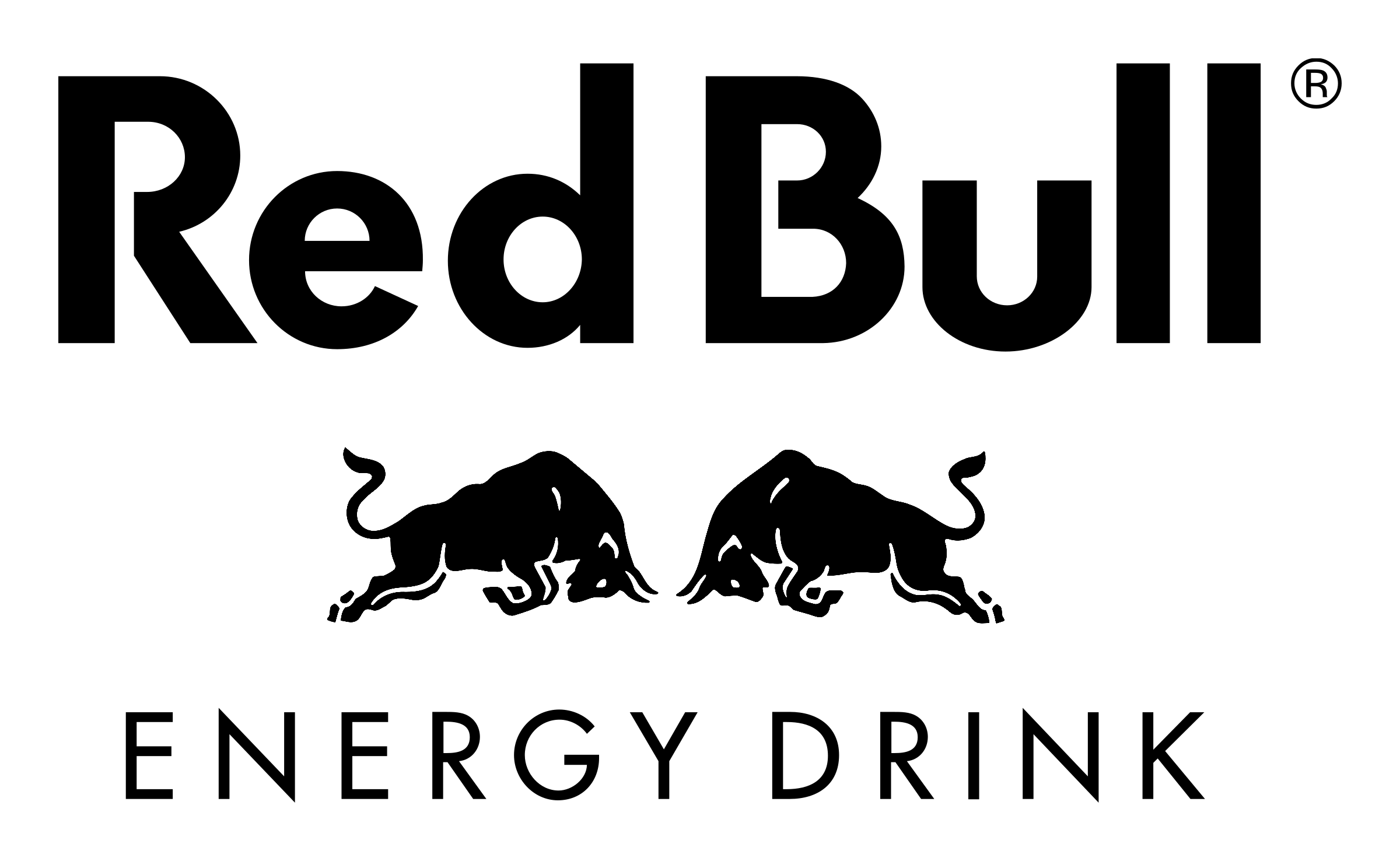 black and white logos red bull transparent png