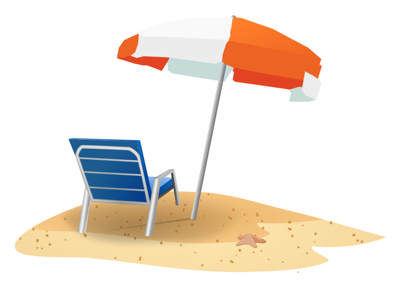 Collection of free beaches. Trip clipart beach holiday banner download