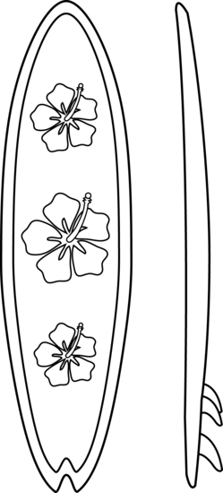 Drawing bed colouring page. Pen clip black