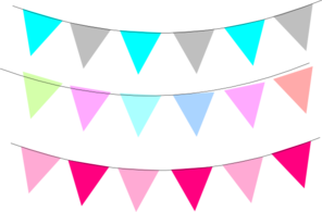Blog flag clip art. Banner flags png clipart free library