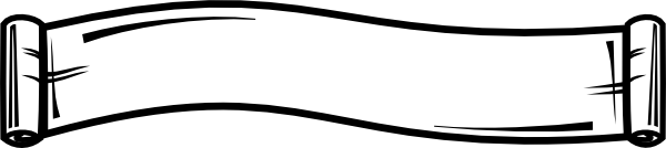 Drawing scrolls old. Scroll banner clip art