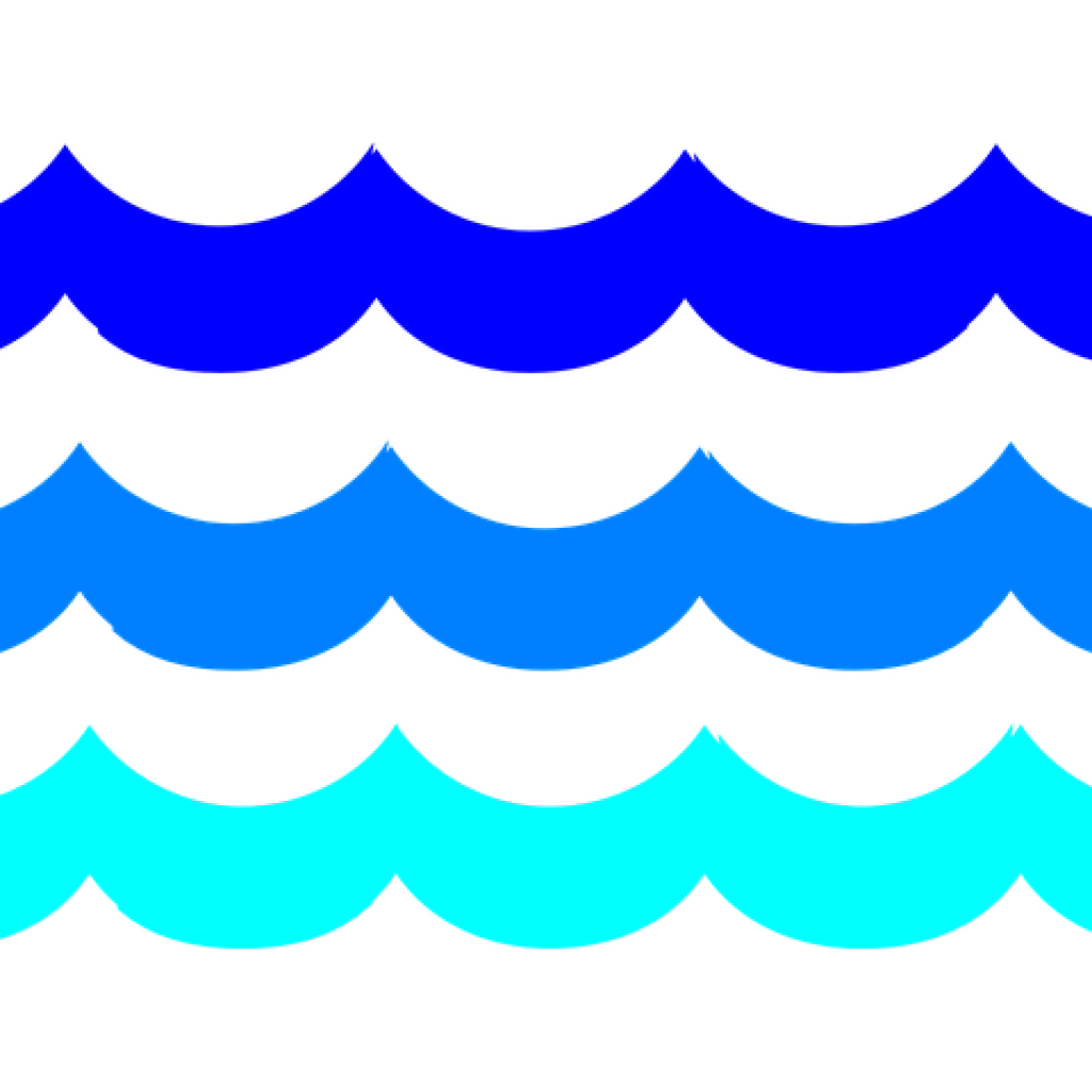 Wave clip transparent background. Ovean waves banner library