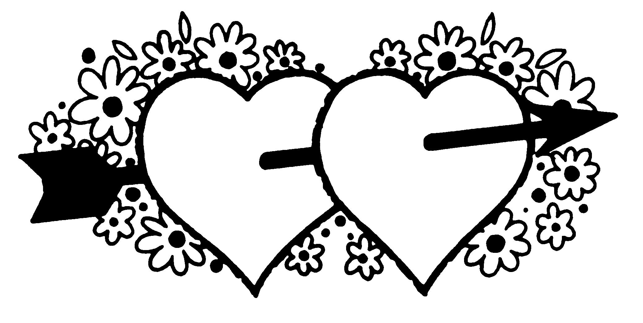 Banner clipart. Pretentious valentines day black