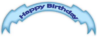 Banner clipart happy birthday. Clip art