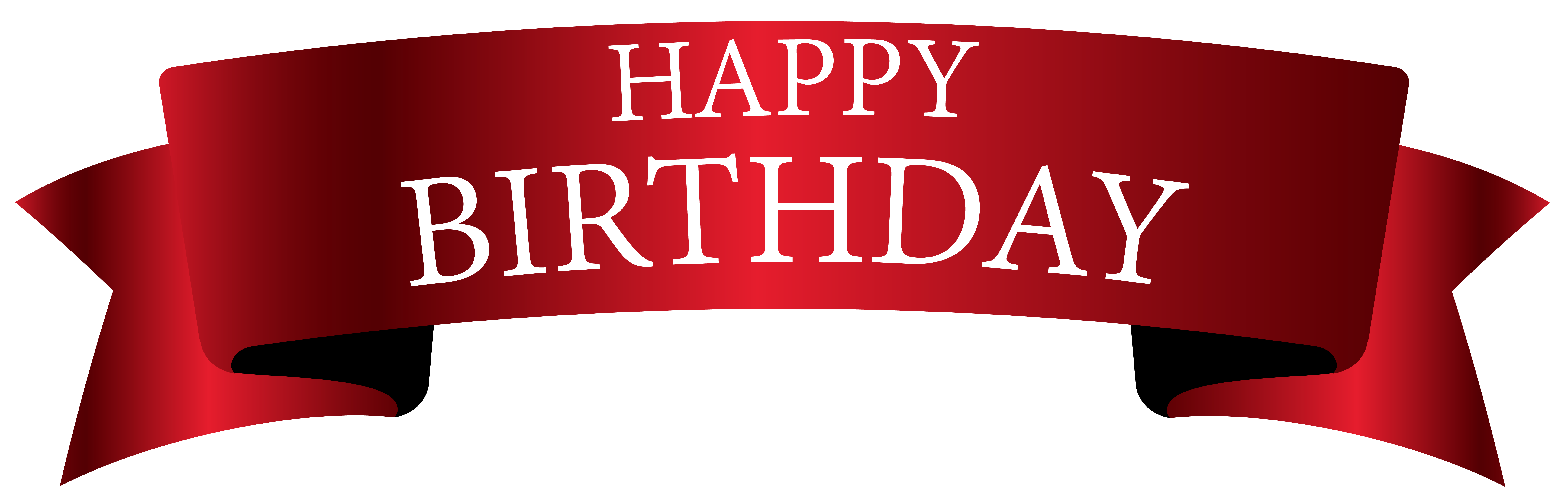 Happy birthday banner background png. Red clipart image gallery