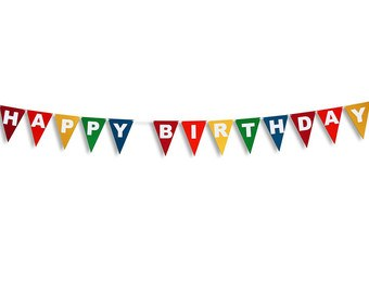 Banner clipart happy birthday. Flag clip art lacalabaza