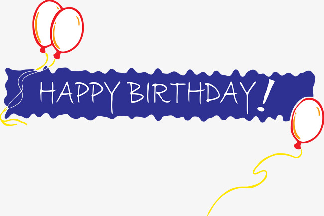 Banner clipart happy birthday. Blessing png image and