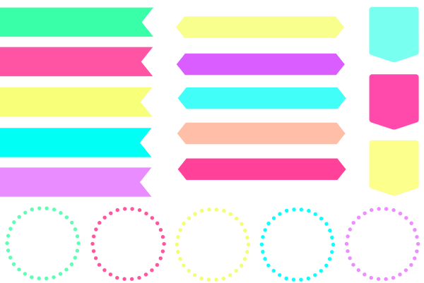 Banner clipart pastel. Ribbon pictures and