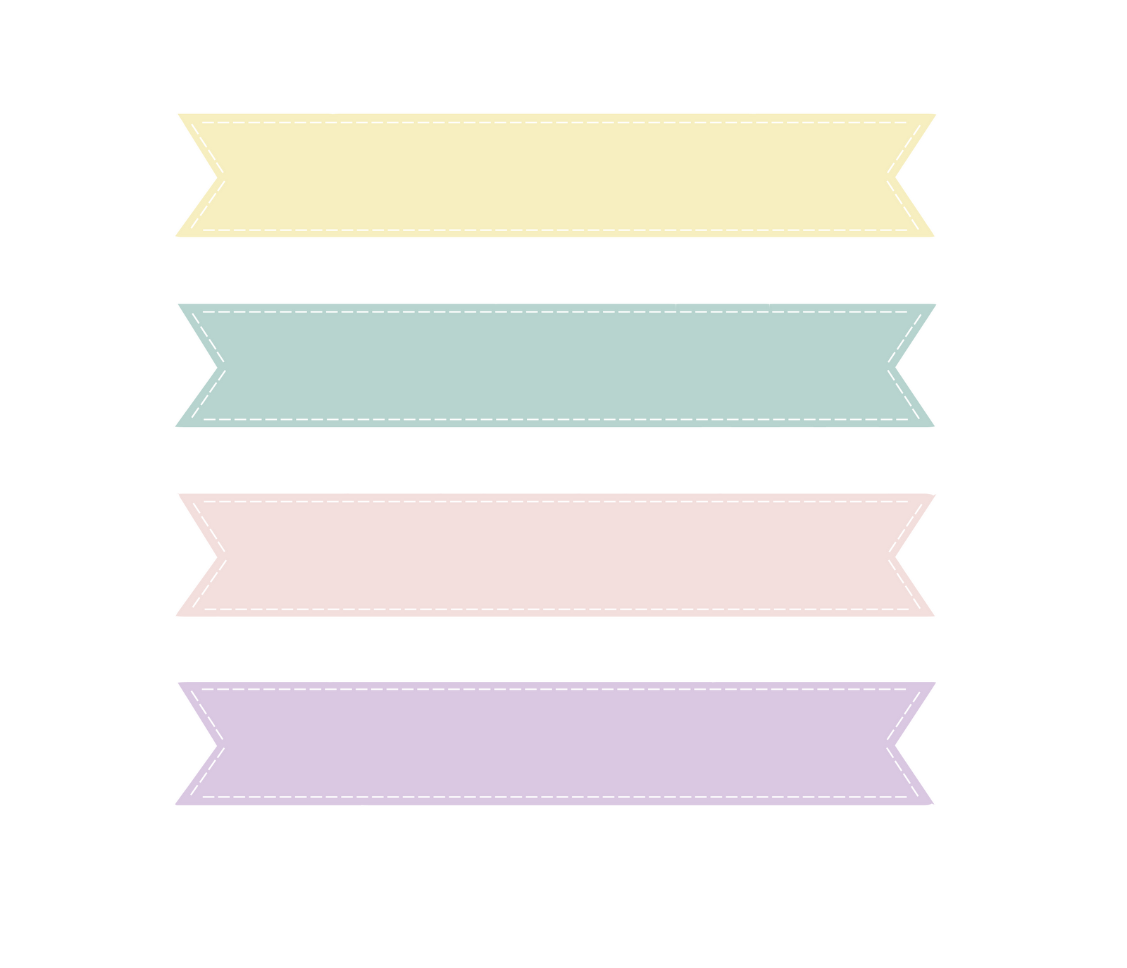Banner clipart pastel. Loveration freebies cute clip