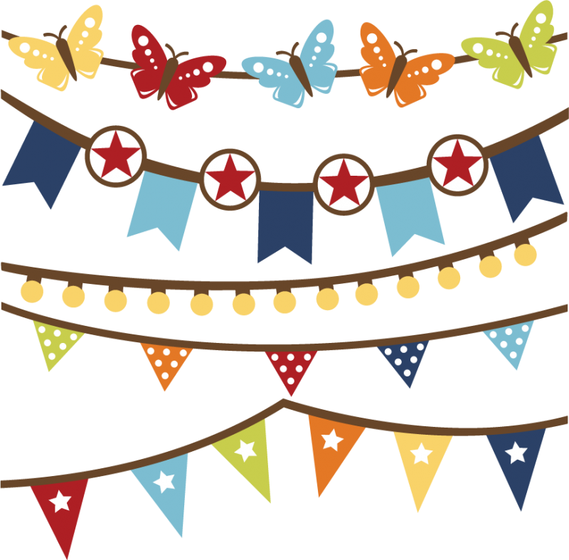 Banner clipart summer. Banners svg files for