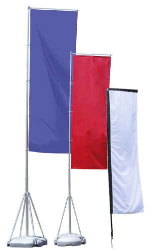 Banner flags png. Advertising stock custom banners
