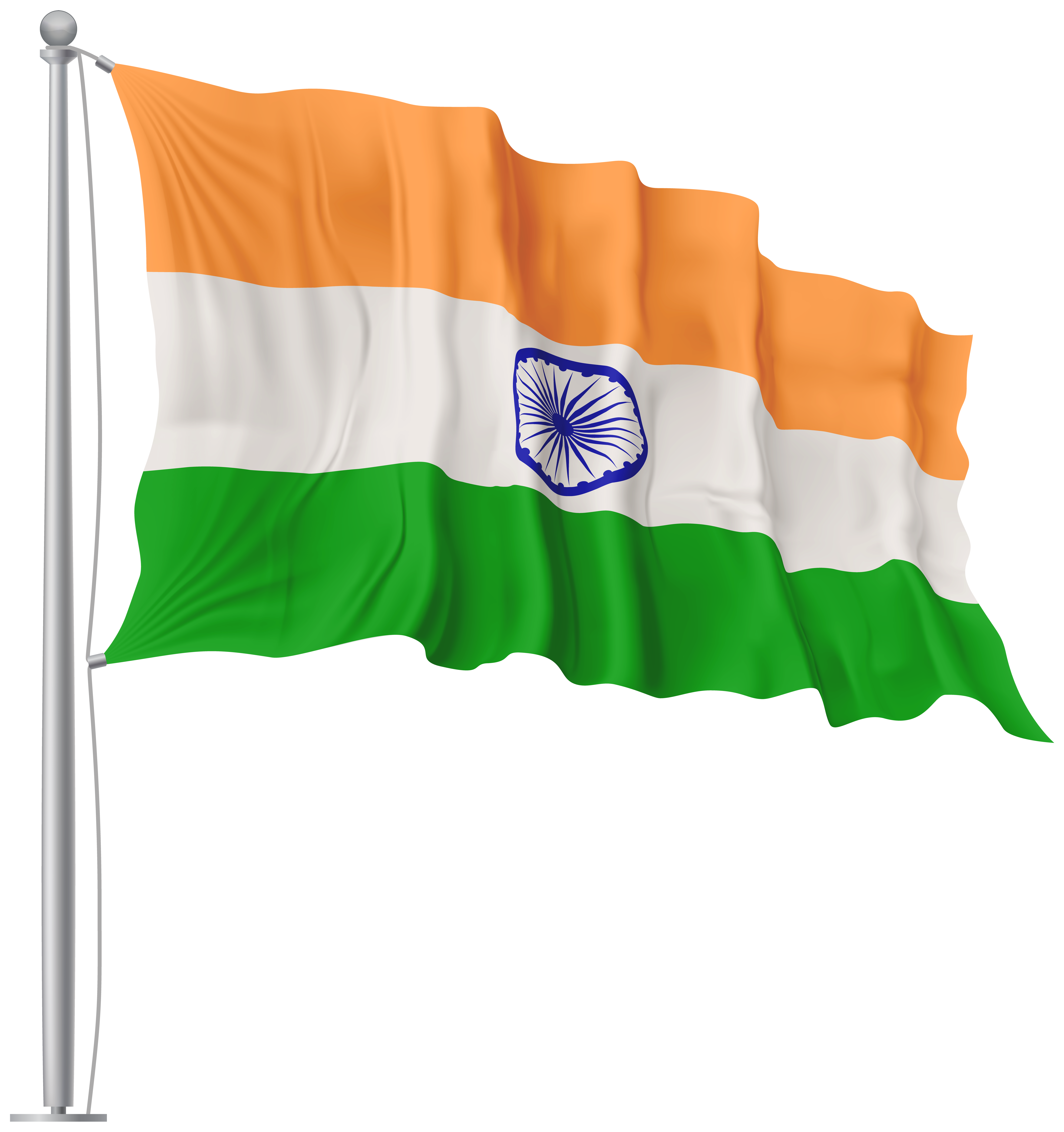 Banner flags png. India waving flag image