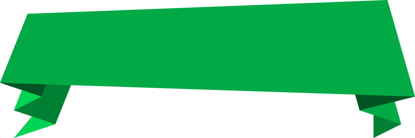 Green banner png. Transparent pictures free icons