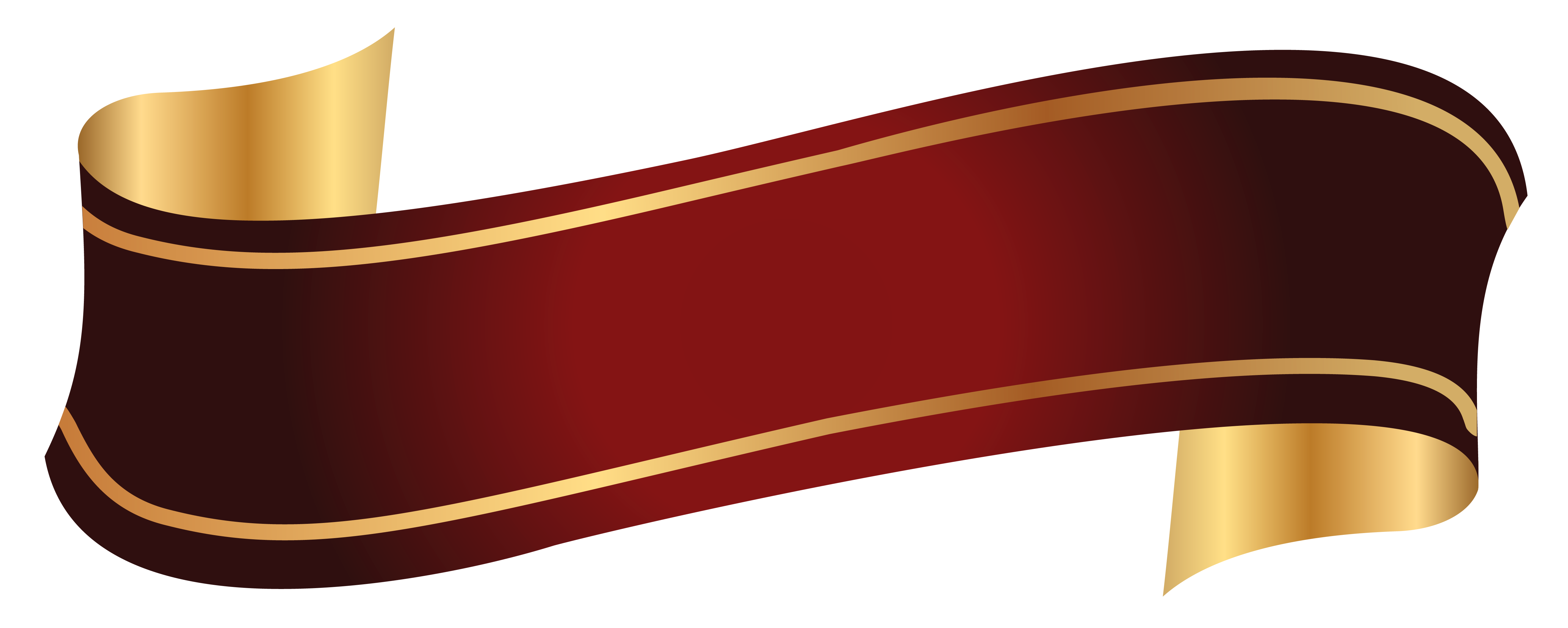 Gold ribbon banner png. Pin by andrea on