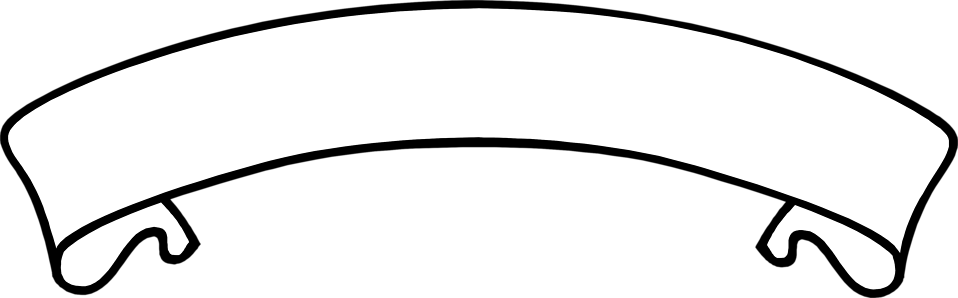 Banner png black and white. Free stock photo illustration