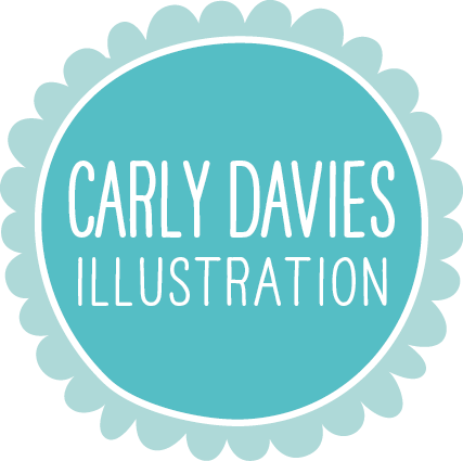 Banner png cute. About carly davies illustration