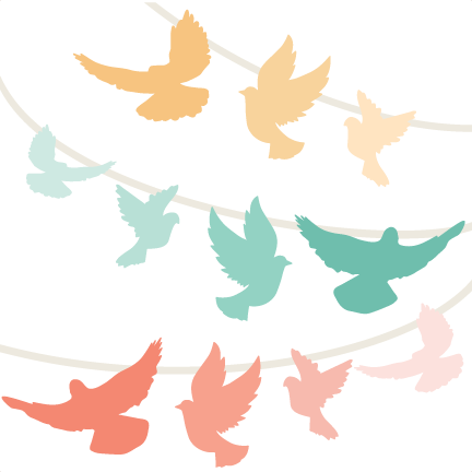 Banner png cute. Bird swag banners svg
