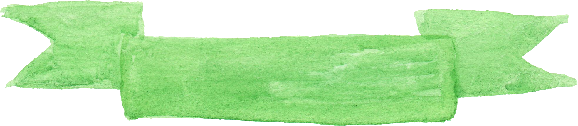 Banner png green. Watercolor banners transparent