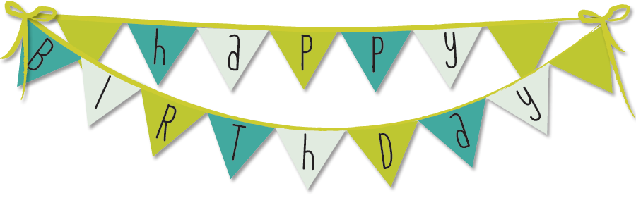 Banner png image. Happy birthday transparent images