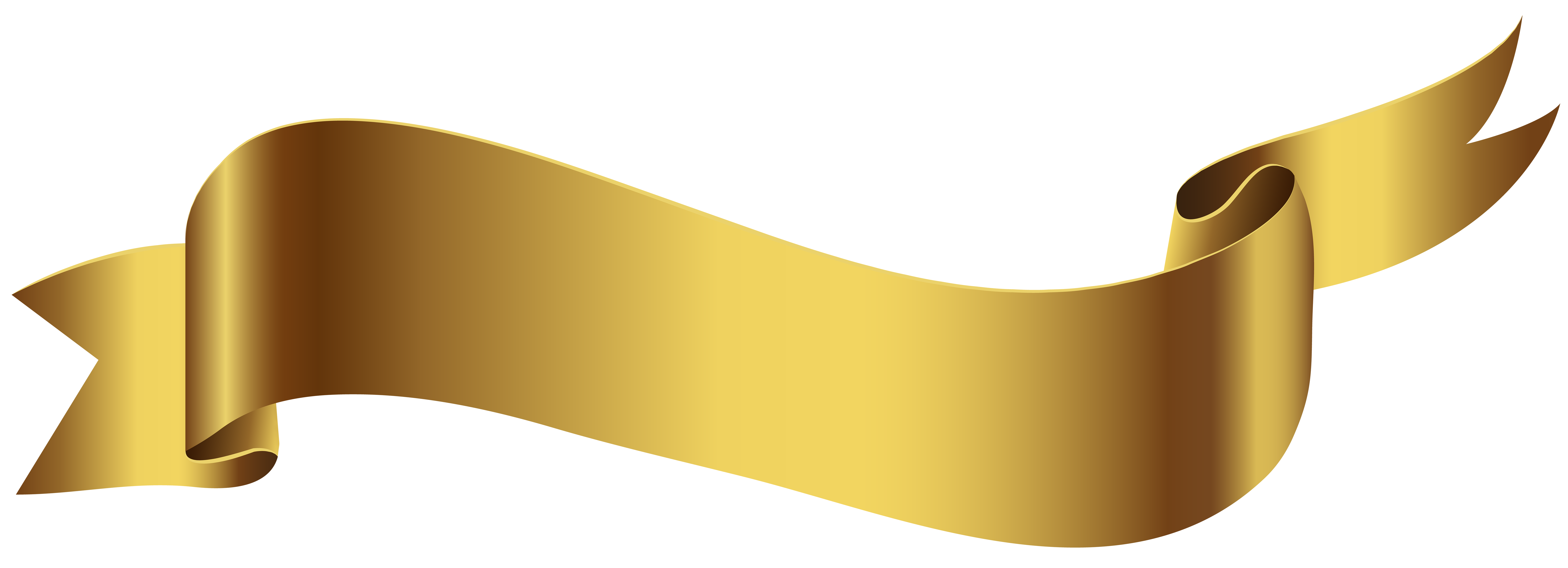 Banner png transparent. Gold image gallery yopriceville