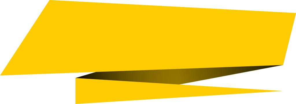 Vector rectangle yellow. Origami banner png