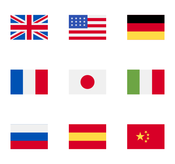 flag icon packs. Flags png clipart library library