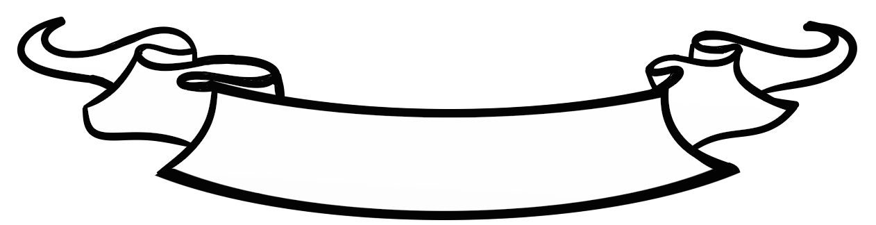 Banner scroll png. Collection of drawing