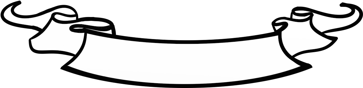 Banner scroll png. Download black and white