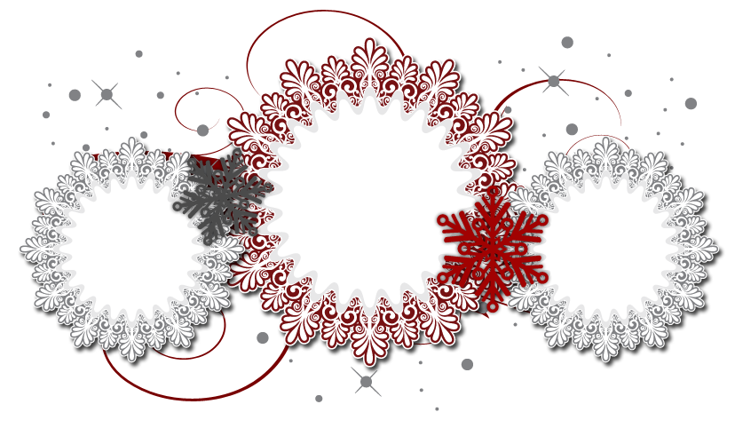 Banner template png. Snow el free christmas