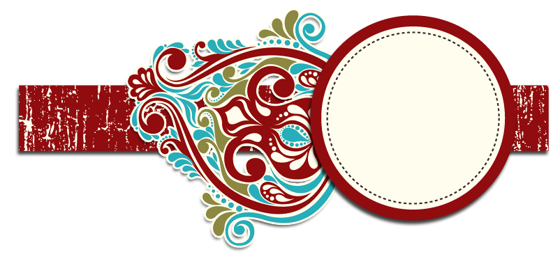 Banner template png. Christmas blog blogger the