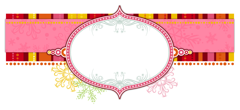 Banner template png. Sugarplum fairy blogger the