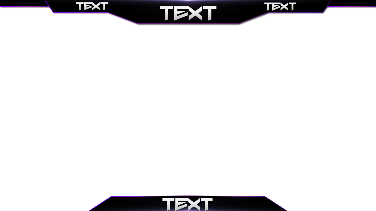Banner template youtube png. Thread free twitch overlay