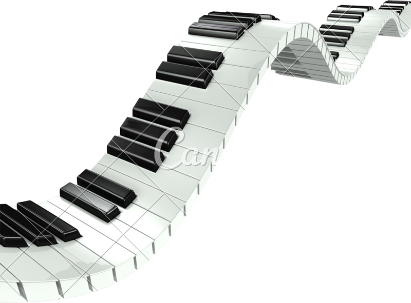 Banner with colored piano keys png transparent. D wavy photos