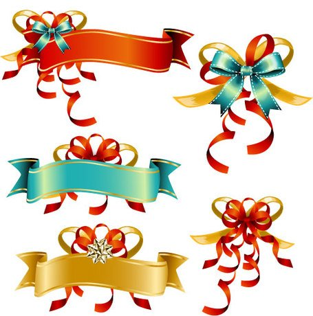 Banners clipart bow. Free ribbon banner and