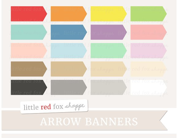Banners clipart rectangle. Arrow banner illustrations creative