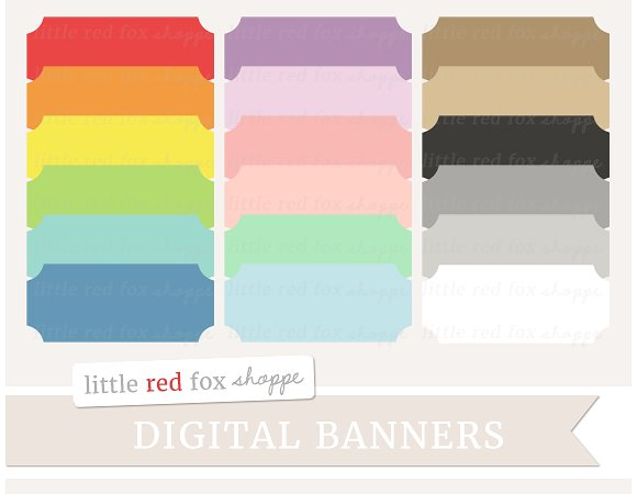 Banners rectangle