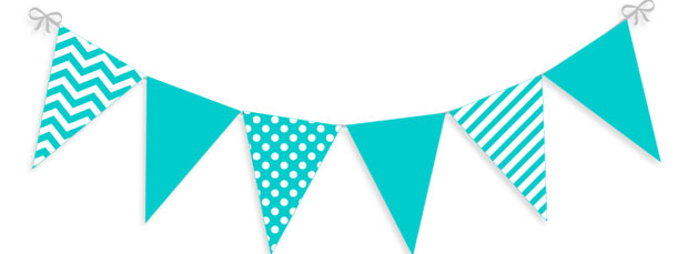 Pennant clipart. Colors flags banner