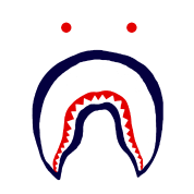 Bape shark logo png. Images in collection page