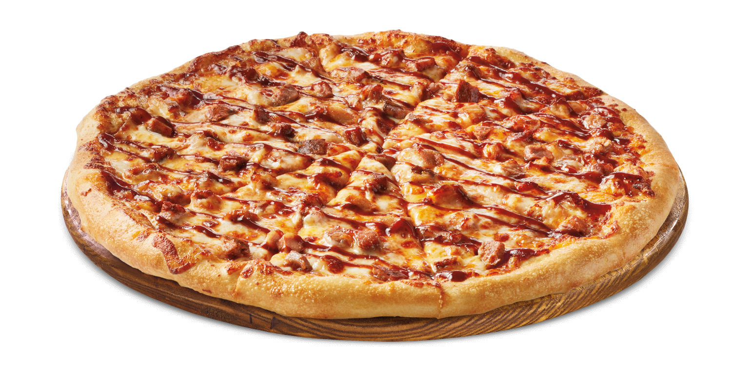 Cheese pizza png. Bbq pork cicis