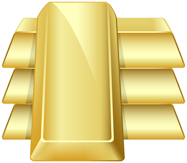 Bars transparent png clip. Gold clipart clip freeuse stock